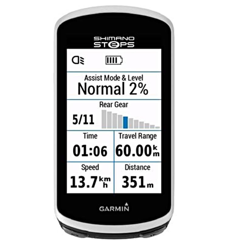 Garmin condivide dati con Shimano STEPS