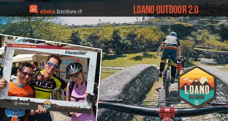 ciclisti si divertono a Loano in Liguria