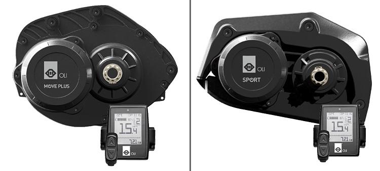 Comparativa tra il motore Oli Move Plus e Sport