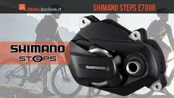 Motorizzazione eMTB Shimano Steps E7000 2018