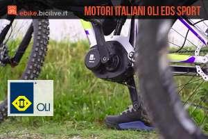 mtb elettrica con motore Oli Sport