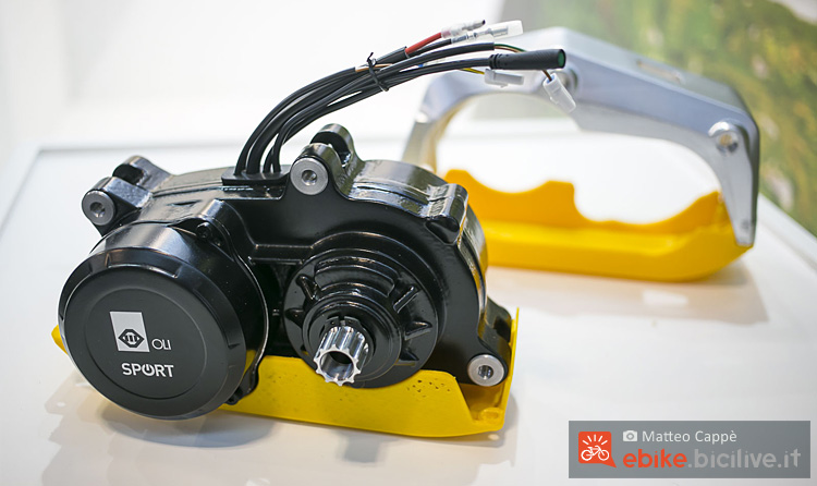 motore centrale per ebike Oli Eds