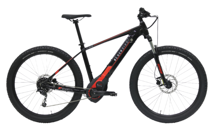 eMTB hardtail  RS-E3 EVO di Black Bird