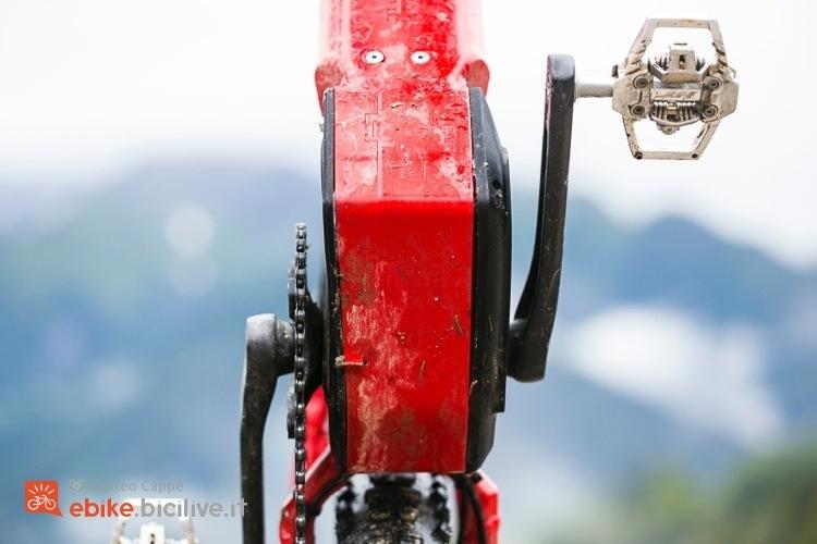 foto del motore brose s amg visto da sotto