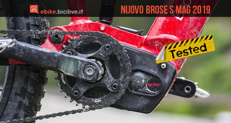 Brose S Mag 2019 motore ebike: caratteristiche e test