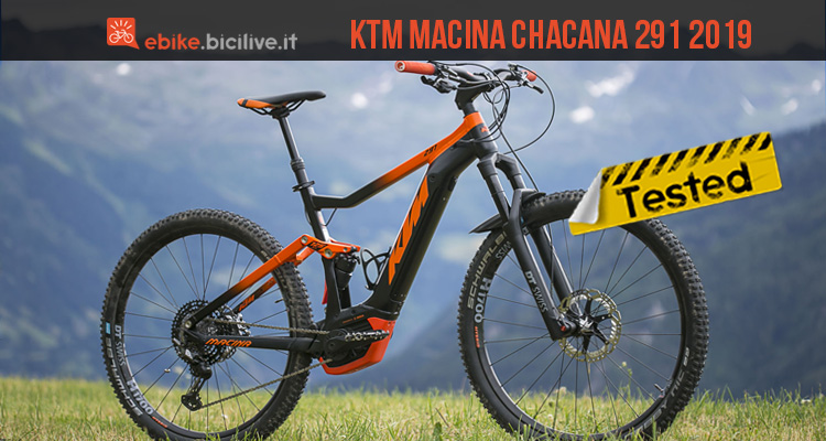 ktm macina chacana 291 2019 il test della emtb. Black Bedroom Furniture Sets. Home Design Ideas