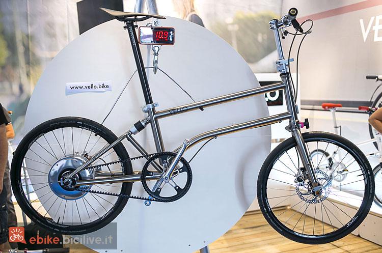 pieghevole elettrica Vello Bike+ Titanium 2019