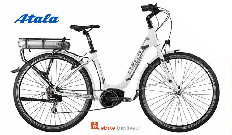city bike elettrica da donna Atala 2019