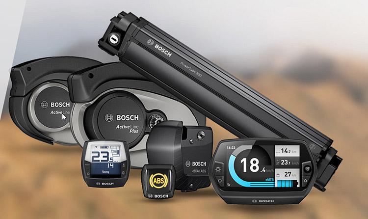 foto della linea Bosch Active Line Plus con anche il sistema ABS.