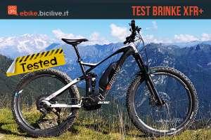 foto della emtb brinke bike xfr plus