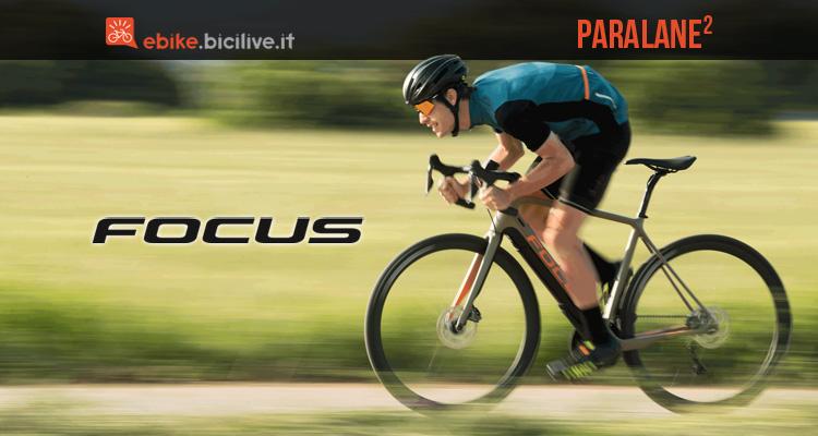 Linea eBike da corsa Focus Paralane² 2018