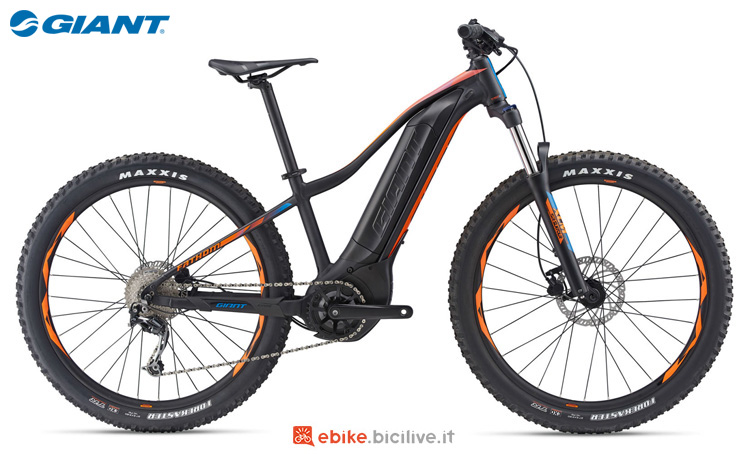 Una eMTB Giant Fathom E+ 3 Power 2019