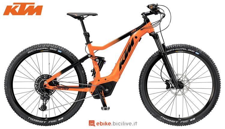 Una bici elettrica da ffroad KTM Macina Chacana 293