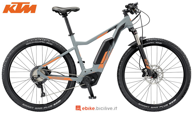Una mountain bike a pedalata assistita KTM Macina Mighty 292 2019
