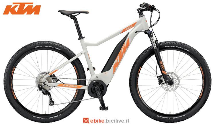 Una bici elettrica KTM Macina Ride 292 della gamma 2019