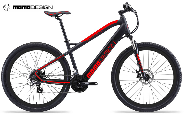 Una mountain bike elettrica MOMODESIGN Aspen 27,5+ Integrale