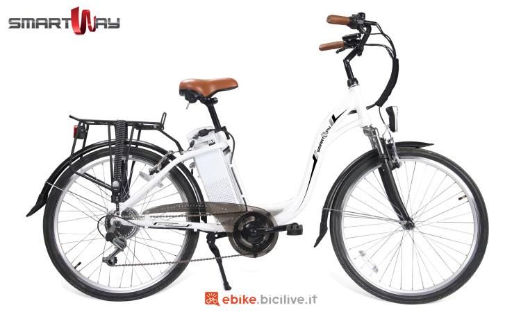 Una bici elettrica da città SmartWay City Bike Unisex C1