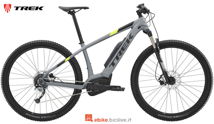 Una mtb front a pedalata assistita Powerfly 4 2019