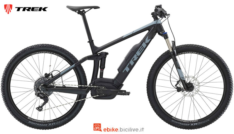 Una mtb front a pedalata assistita Powerfly FS 4 2019
