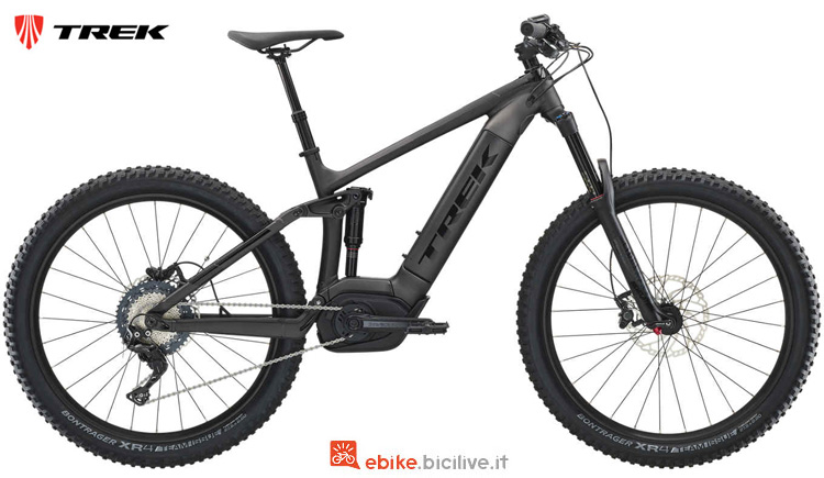Una ebike Powerfly FS 7 Plus