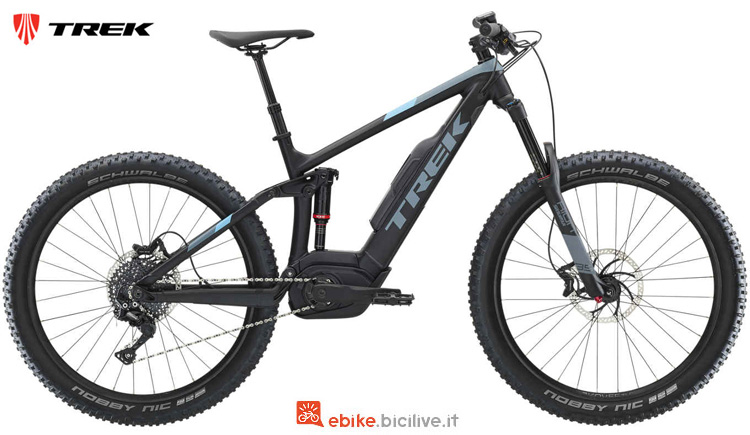 Una mountain bike a pedalata assistita Powerfly LT 4 Plus dal catalogo 2019
