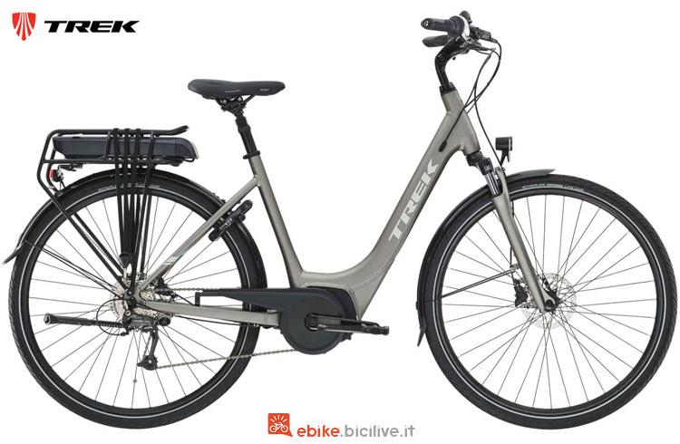 Una bici a pedalata assistita Trek TM1+ Lowstep anno 2019