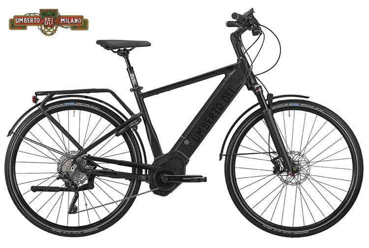Una bicicletta elettrica a pedalata assistita Audere del marchio Umberto Dei del gruppo Atala
