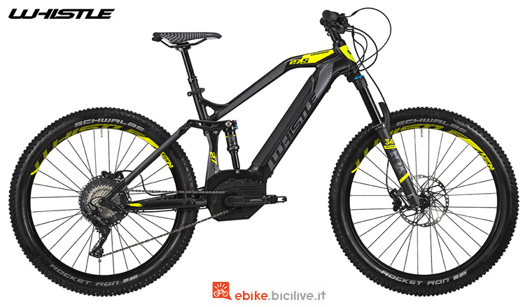 Una eMTB Whislte B-Rush Plus SL 2019