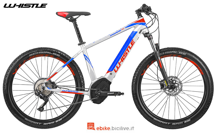 Una mtb a pedalata assistita Whistle B-Ware HF S LTD 2019
