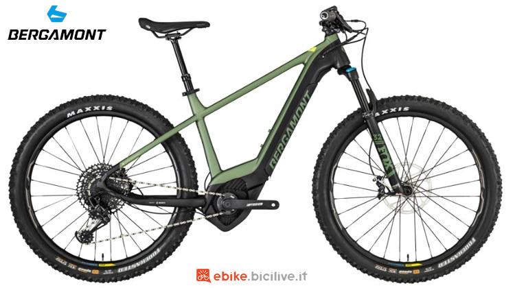 Una mtb elettrica hardtail Bergamont E-Revox Elite 27 2019