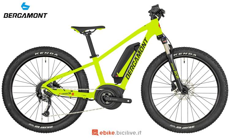 Una bici elettrica per ragazzini Bergamont E-Revox Junior 24