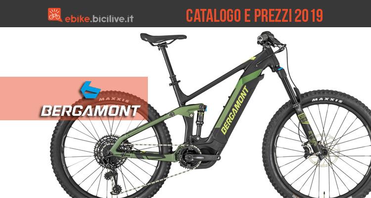 Bici elettriche Bergamont: catalogo e listino prezzi 2019