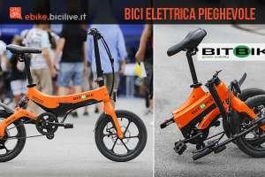 bici elettrica pieghevole BitBike