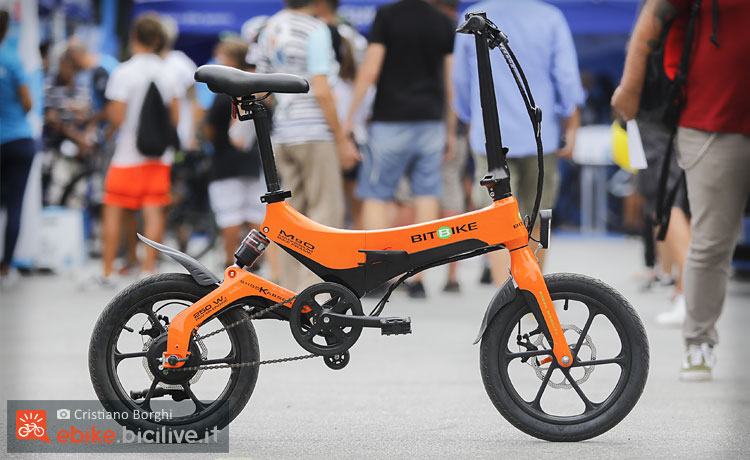 Folding bike elettrica BitBike