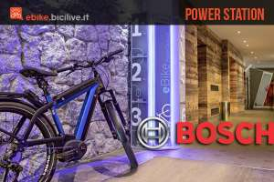 Bosch Power Station: il network di rifornimento per ebike