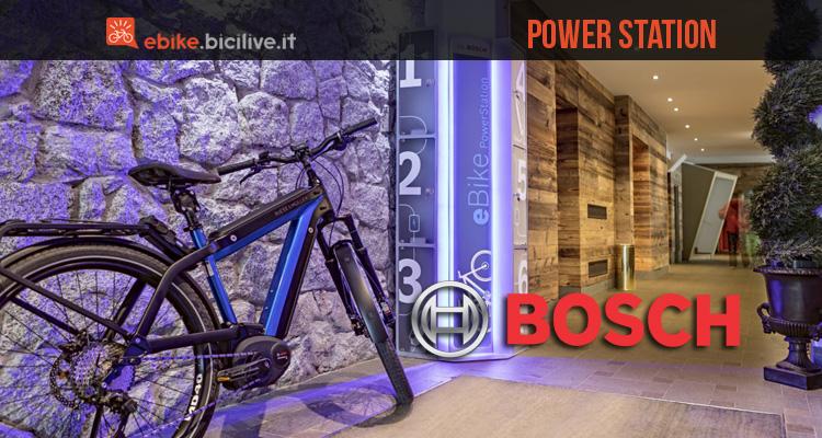 Bosch Power Station: il network di rifornimento per ebike