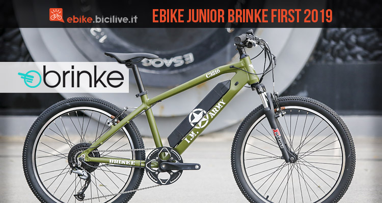 ebike junior Brinke First 2019