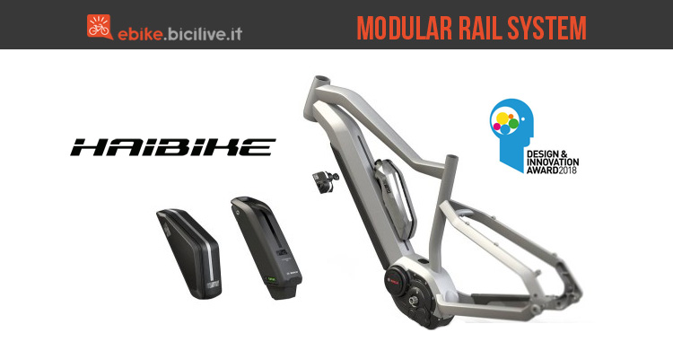 Haibike Modular Rail System per ebike
