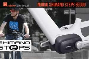 nuovo motore Shimano Steps E5000