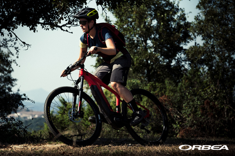 Una mountain bike elettrica Orbea Keram MTB 2019