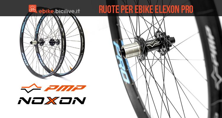 ruote per ebike PMP Noxon Elexon Pro