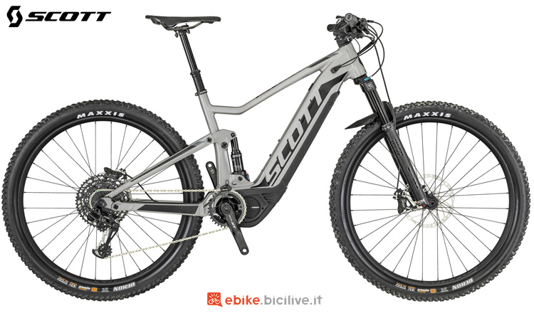 Una mountain bike elettrica Scott Spark eRide 910 2019