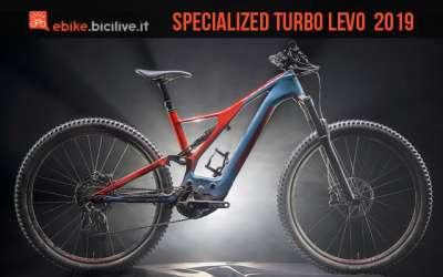foto della Specialized Turbo Levo Carbon 2019