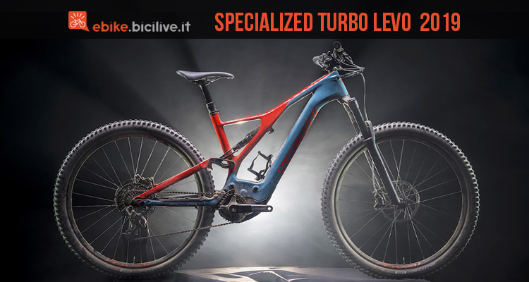 foto della Specialized Turbo Levo Carbon 2019