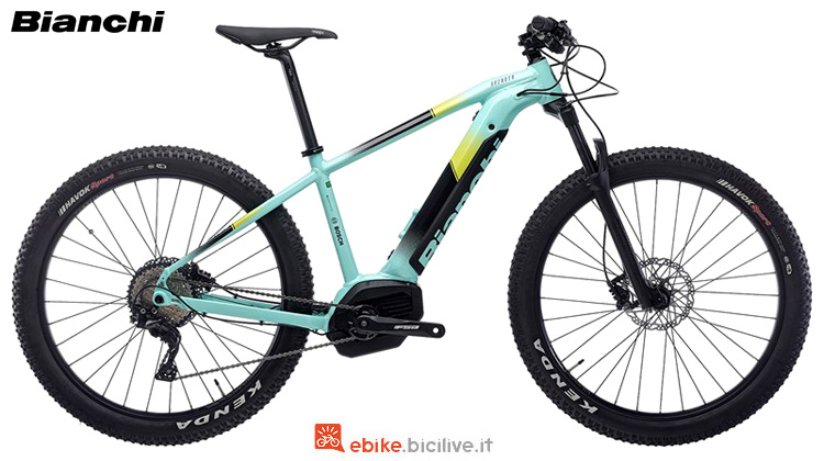 Una mb eletrica front Bianchi Avenger HT 7.2 anno 2019