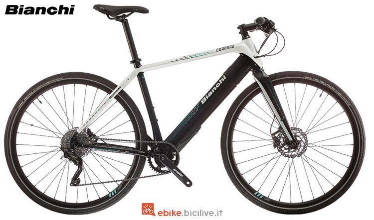 Una bici elettrica Bianchi Edoardo (Deore) anno 2019