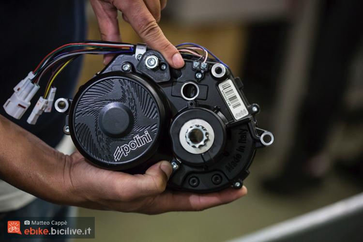 foto del motore polini ep3 con ingresso usb