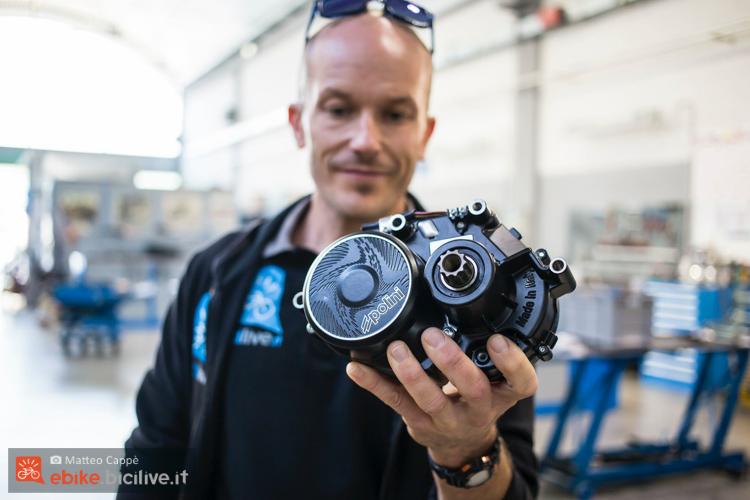 foto del motore per ebike polini ep3
