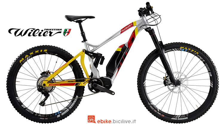 e-mtb con ruote differenziate Wilier e803Enduro 2019