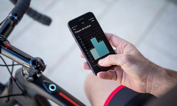 Sistema di controllo dell'ebike Wilier via app